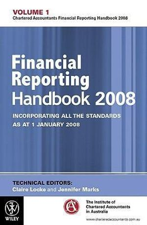 Cover of Financial Reporting Handbook 2008