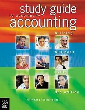Cover of Accounting Building Business Skills 3E Study Guide
