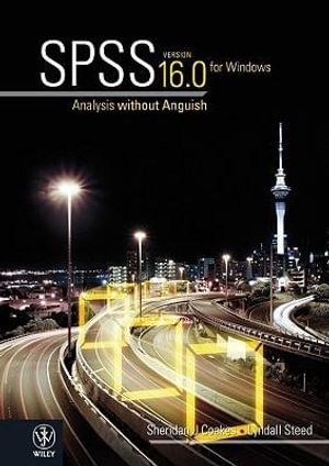 Cover of SPSS Version 16.0 for Windows
