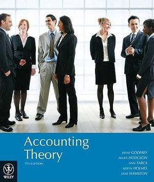Cover of Accounting Theory 7E