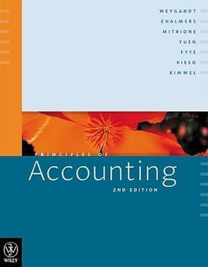 Cover of Principles of Accounting 2E