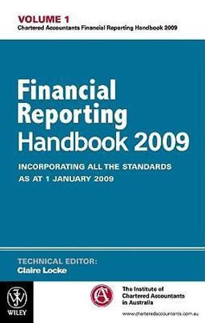 Cover of Financial Reporting Handbook 2009