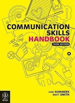 Cover of Communication Skills Handbook 3E