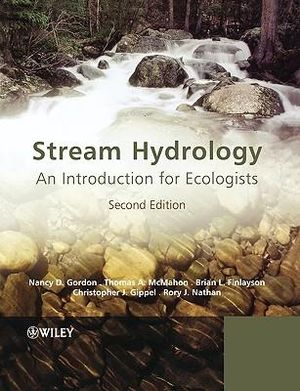 Cover of Stream Hydrology - an Introduction for Ecologists 2E