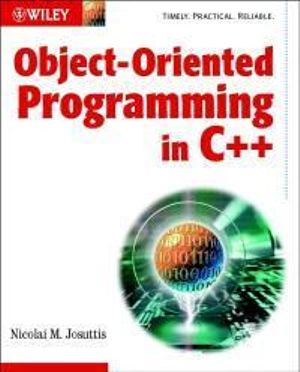 Cover of Object-Oriented Programming in C++