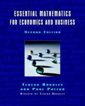 Cover of Essential mathematics for economics and business
