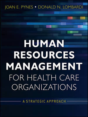 Cover of Human Resources Management for Health Care Organizations