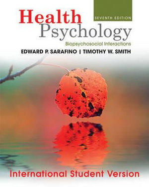 Cover of Health Psychology
