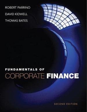 Cover of Fundamentals of Corporate Finance 2E