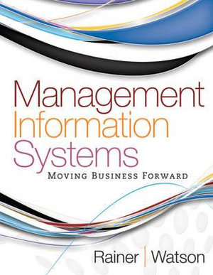 Cover of Management Information Systems 1E