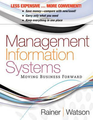 Cover of Management Information Systems 1E Binder Ready Version