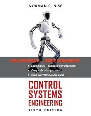 Cover of Control Systems Engineering 6E Binder Ready Version