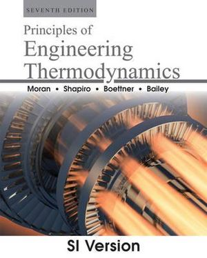 Cover of Fundamentals of Engineering Thermodynamics 7E SI Version
