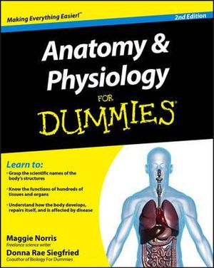 Cover of Anatomy and Physiology For Dummies
