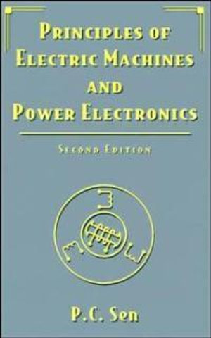 Cover of Principles of Electric Machines and Power Electronics 2E
