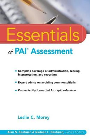 Cover of Essentials of Pai Assessment