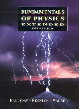 Cover of Fundamentals of Physics, Extended