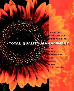 Cover of Total Quality Management