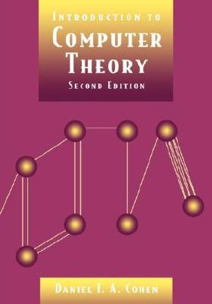 Cover of Introduction to Computer Theory