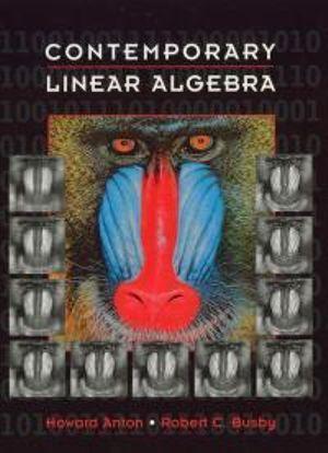 Cover of Contemporary Linear Algebra