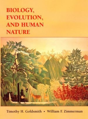 Cover of Biology, evolution, and human nature