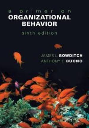 Cover of A Primer on Organizational Behavior