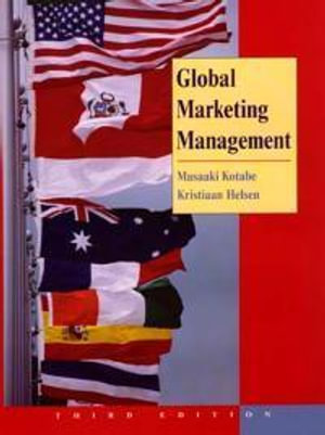 Cover of Global marketing management