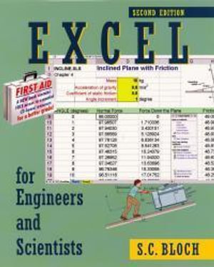 Cover of Excel for Engineers and Scientists