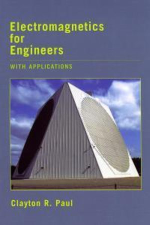 Cover of Electromagnetics for engineers
