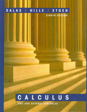 Cover of Salas and Hille's calculus