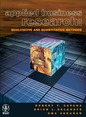 Cover of Applied Business Research