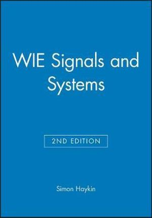 Cover of Signals and Systems 2E WIE