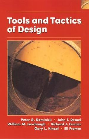 Cover of Tools and tactics of design