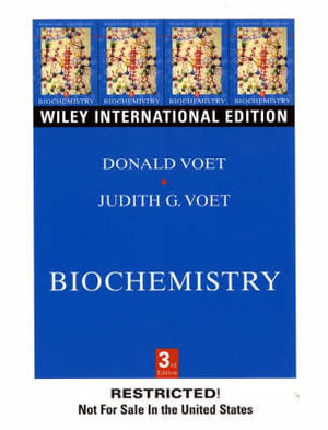 Cover of Biochemistry: Biomolecules, mechanisms of enzyme, action, and metabolism