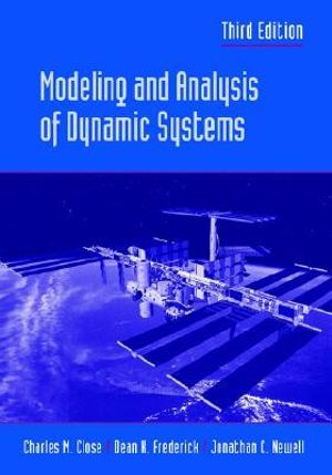 Cover of Modeling and Analysis of Dynamic Systems