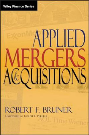 Cover of Applied Mergers and Acquisitions