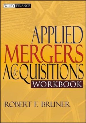 Cover of Applied Mergers and Acquisitions Workbook