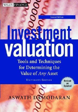 Cover of Investment valuation