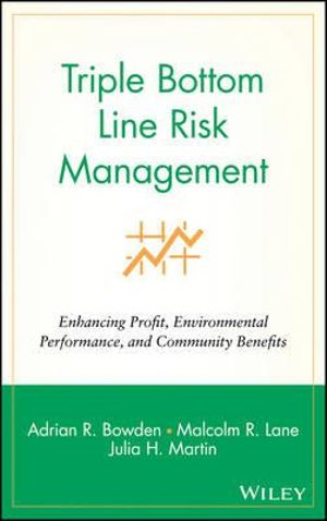Cover of Triple Bottom Line Risk Management
