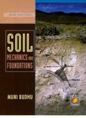 Cover of Soil mechanics and foundations