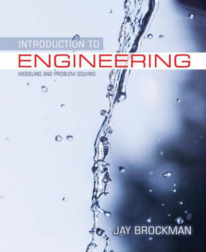 Cover of Introduction to Engineering, Modeling and Problem Solving