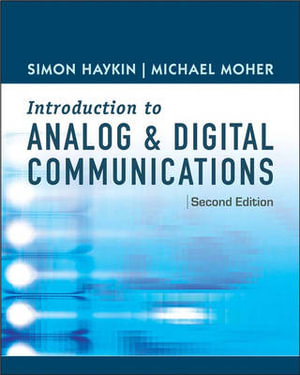 Cover of Introduction to analog and digital communications