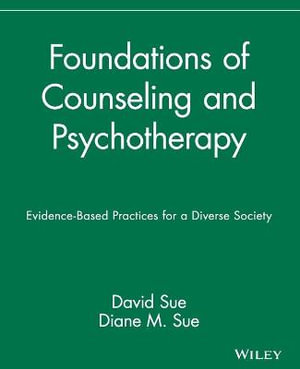 Cover of Foundations of Counseling and Psychotherapy