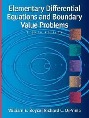 Cover of Elementary Differential Equations and Boundary Value Problems