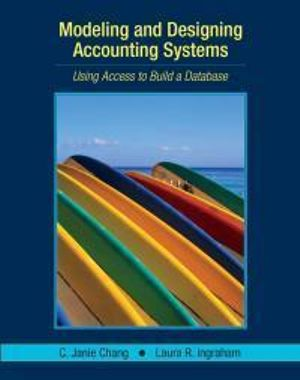 Cover of Modeling and Designing Accounting Systems