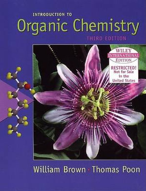 Cover of Wie Introduction to Organic Chemistry