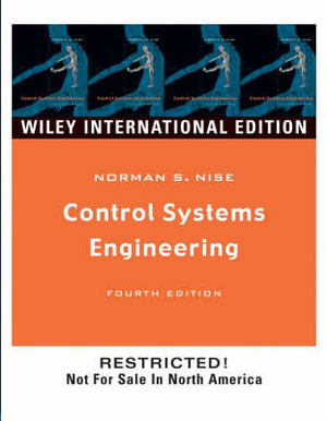 Cover of Control Systems Engineering