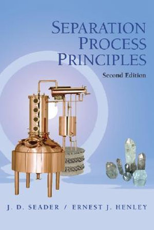 Cover of Separation Process Principles