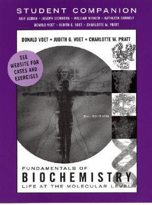 Cover of Student Companion to accompany Fundamentals of Biochemistry
