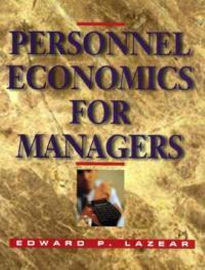 Cover of Personnel Economics for Managers